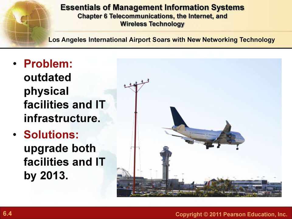 facilities and IT infrastructure.