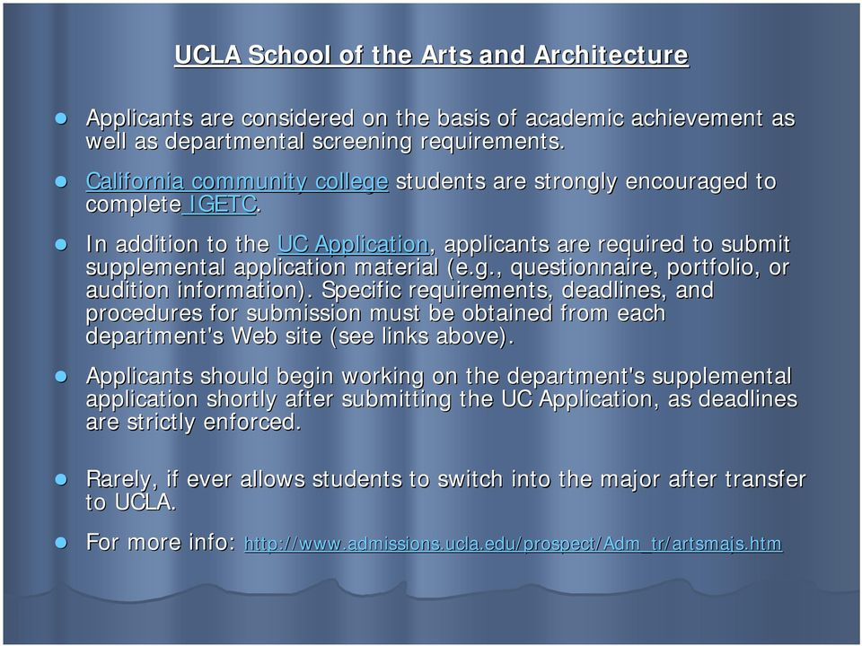 Ucla Admissions Information Tips Strategies For Successful