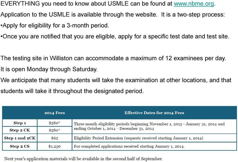 USMLE Step 1 Information (MUST BE TAKEN By THURSDAY ) Laurey Burris