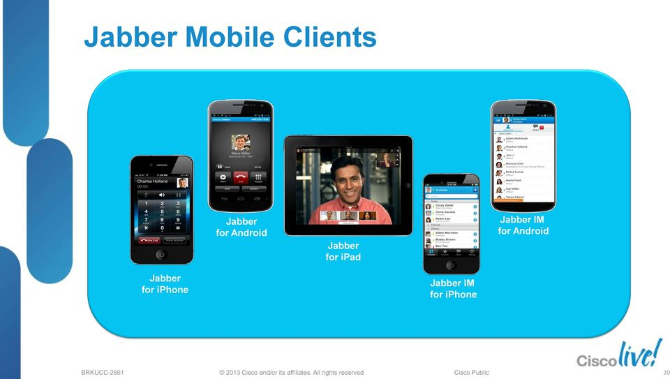 Deploying Cisco Jabber Mobility Solutions - PDF