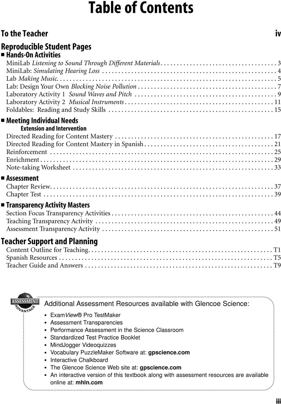 Sound Lab Worksheets For Each Student Edition Activity Laboratory