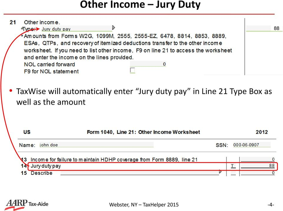 form 1040 line 21  Other Income (Form 14 Line 14) - PDF Free Download