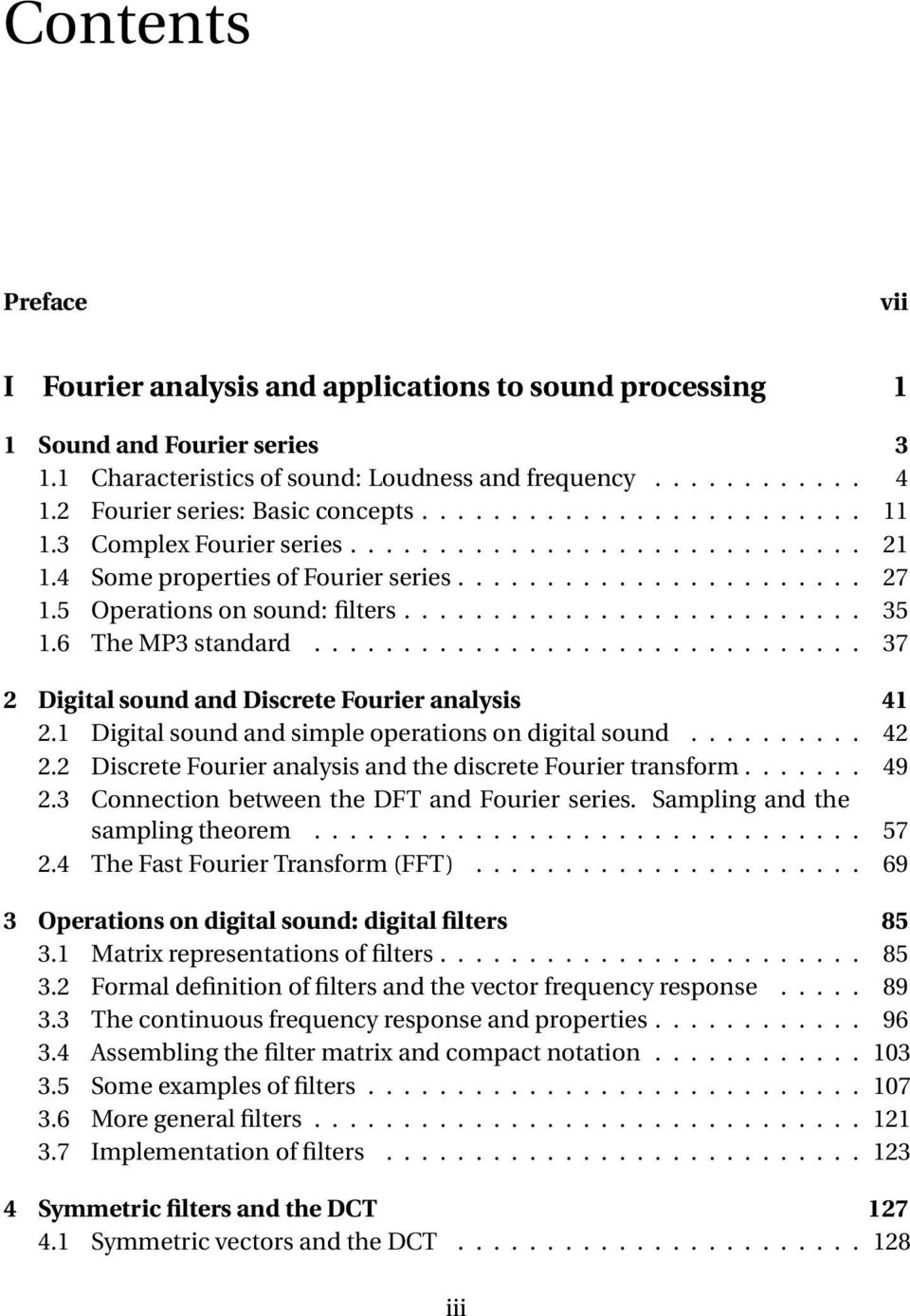 Linear algebra, signal processing, and wavelets  A unified