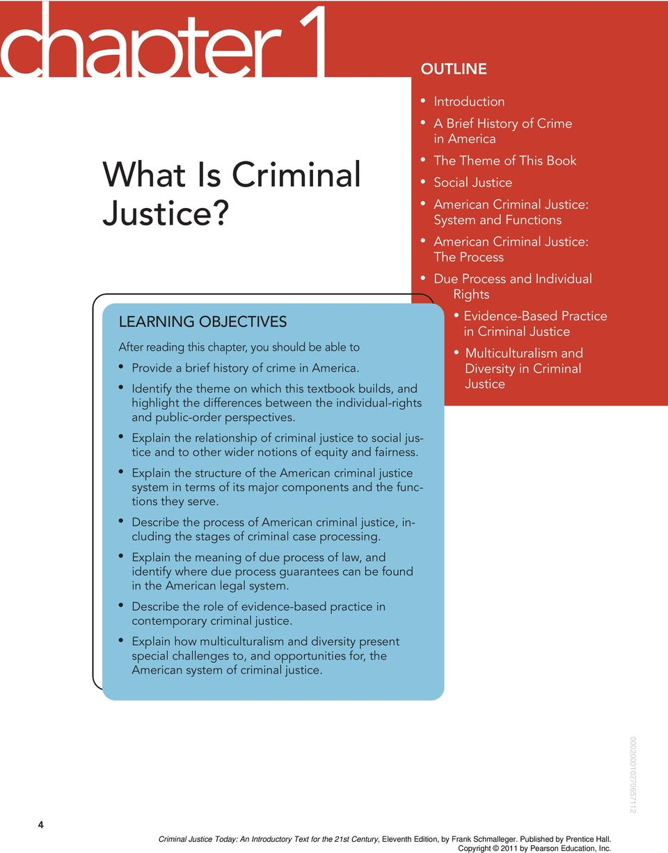 art 1 crime in america how does our system of justice work toward