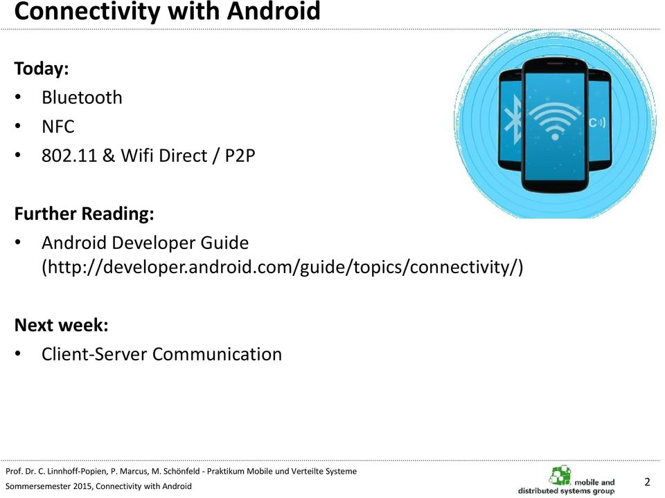 Connectivity with Android - PDF