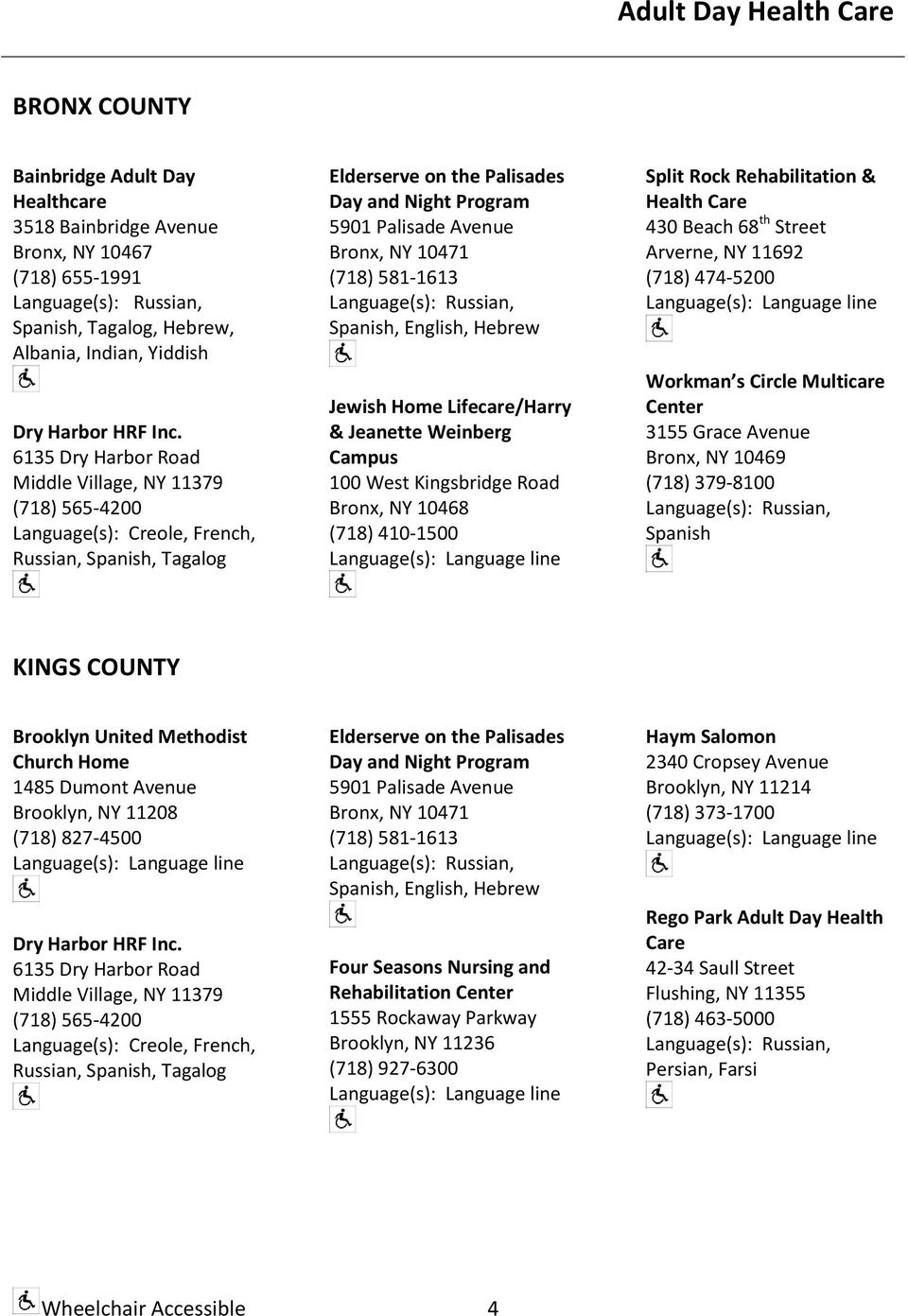 Managed Long-Term Care PROVIDER DIRECTORY - PDF