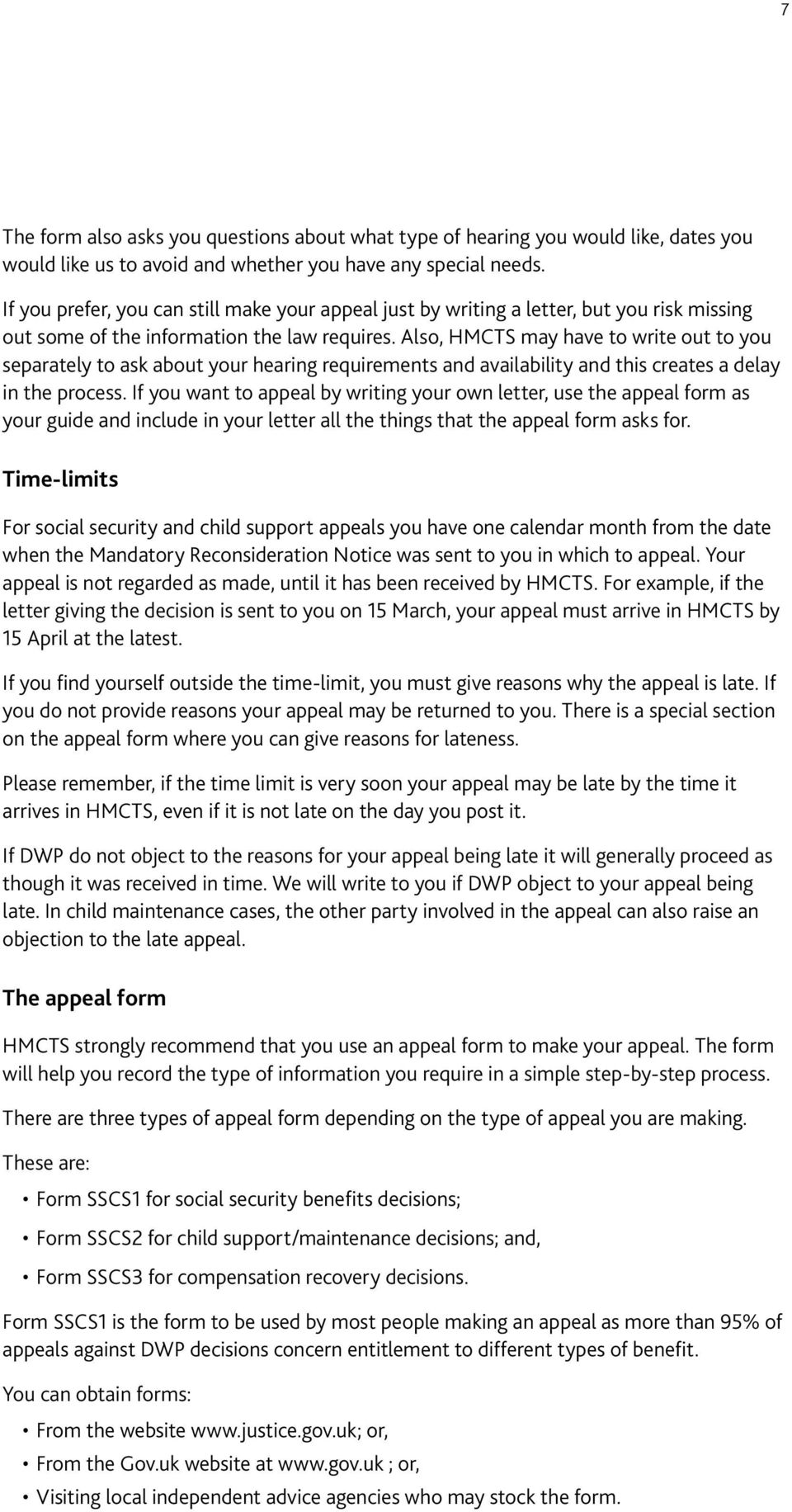 Child Support Appeal Sample Letter from docplayer.net