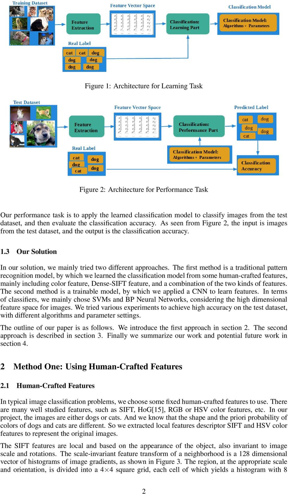 Image Classification for Dogs and Cats - PDF