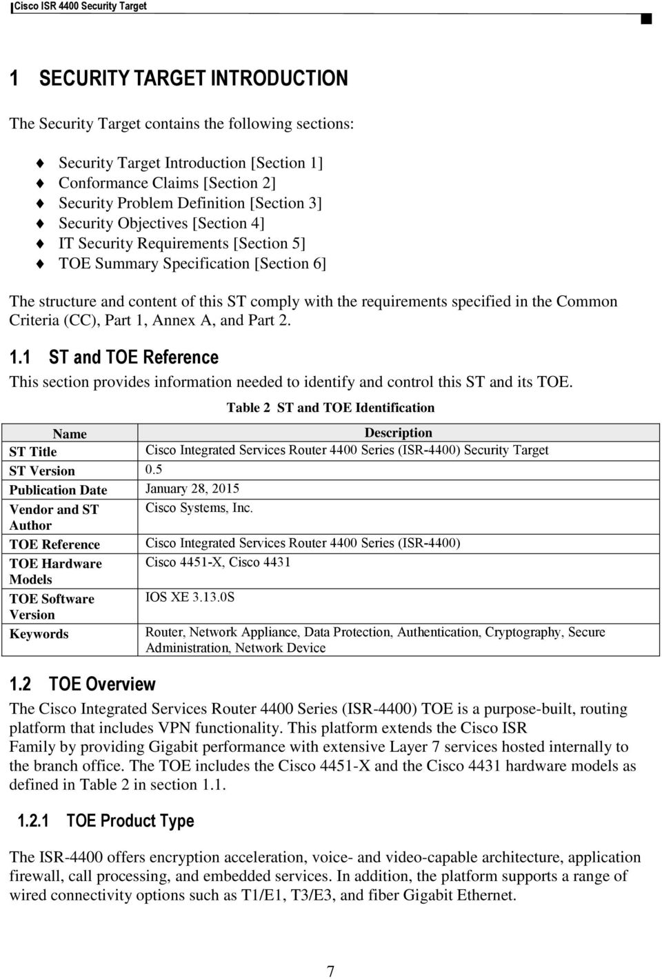 Cisco Integrated Services Routers (ISR) 4400 Series - PDF