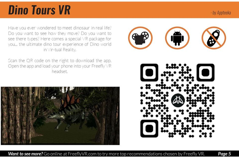 Our Top VR Experiences. a collection of approved apps