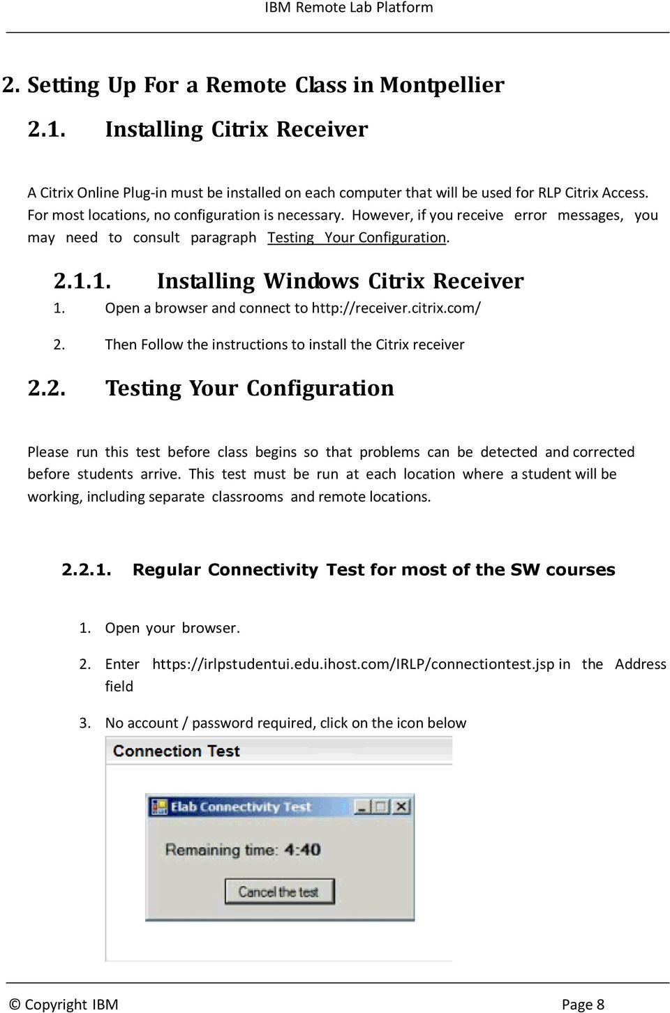 RLP Citrix Setup Guide - PDF