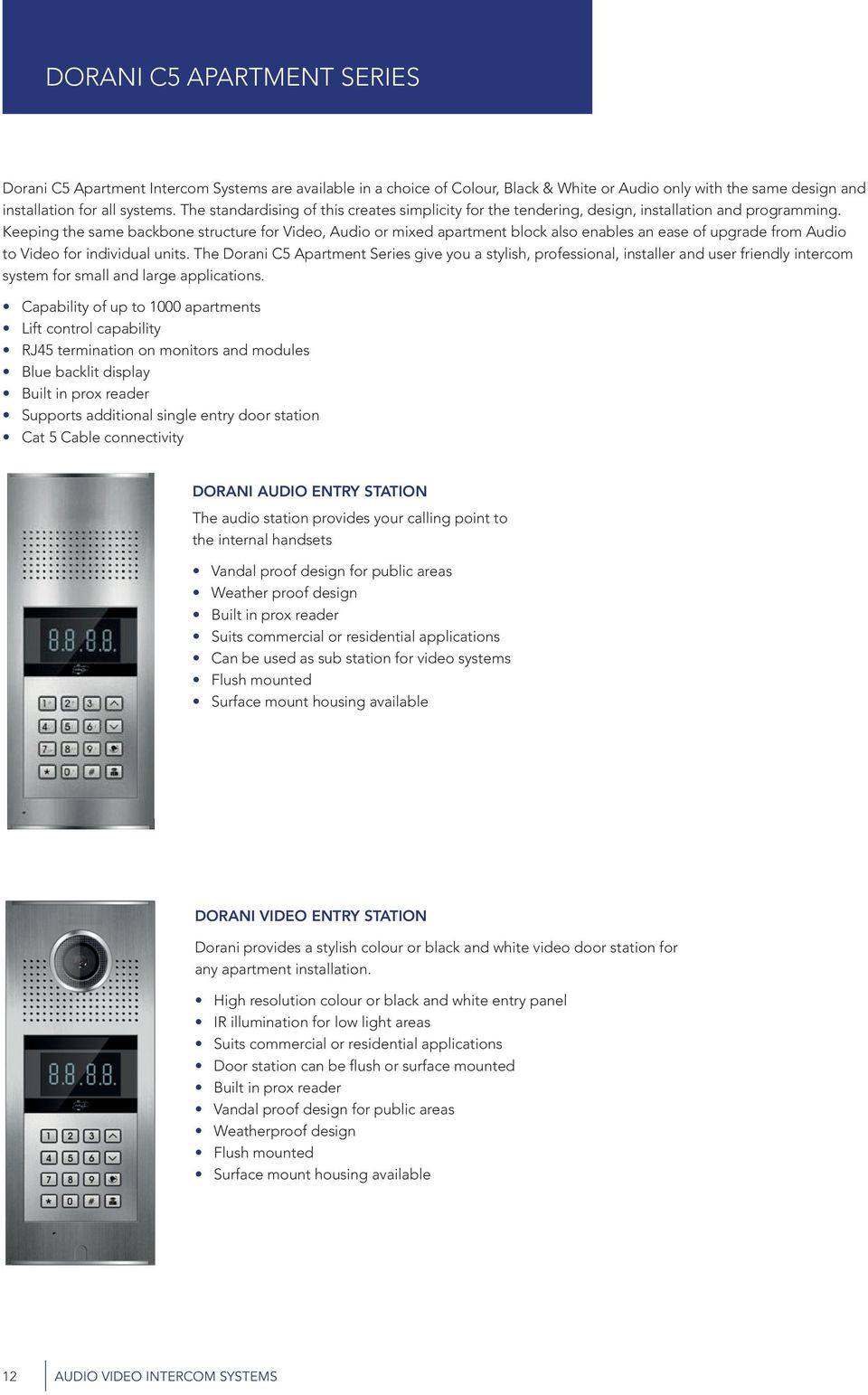 Amazing Audio Video Intercom Systems Security Safety At Your Finger Tips Wiring Digital Resources Arguphilshebarightsorg