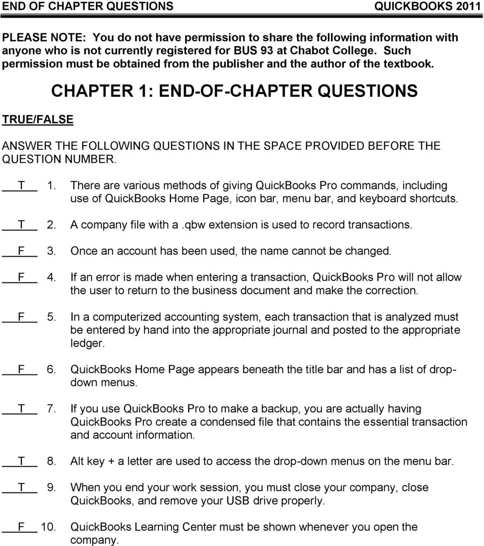 CHAPTER 1: END-OF-CHAPTER QUESTIONS - PDF