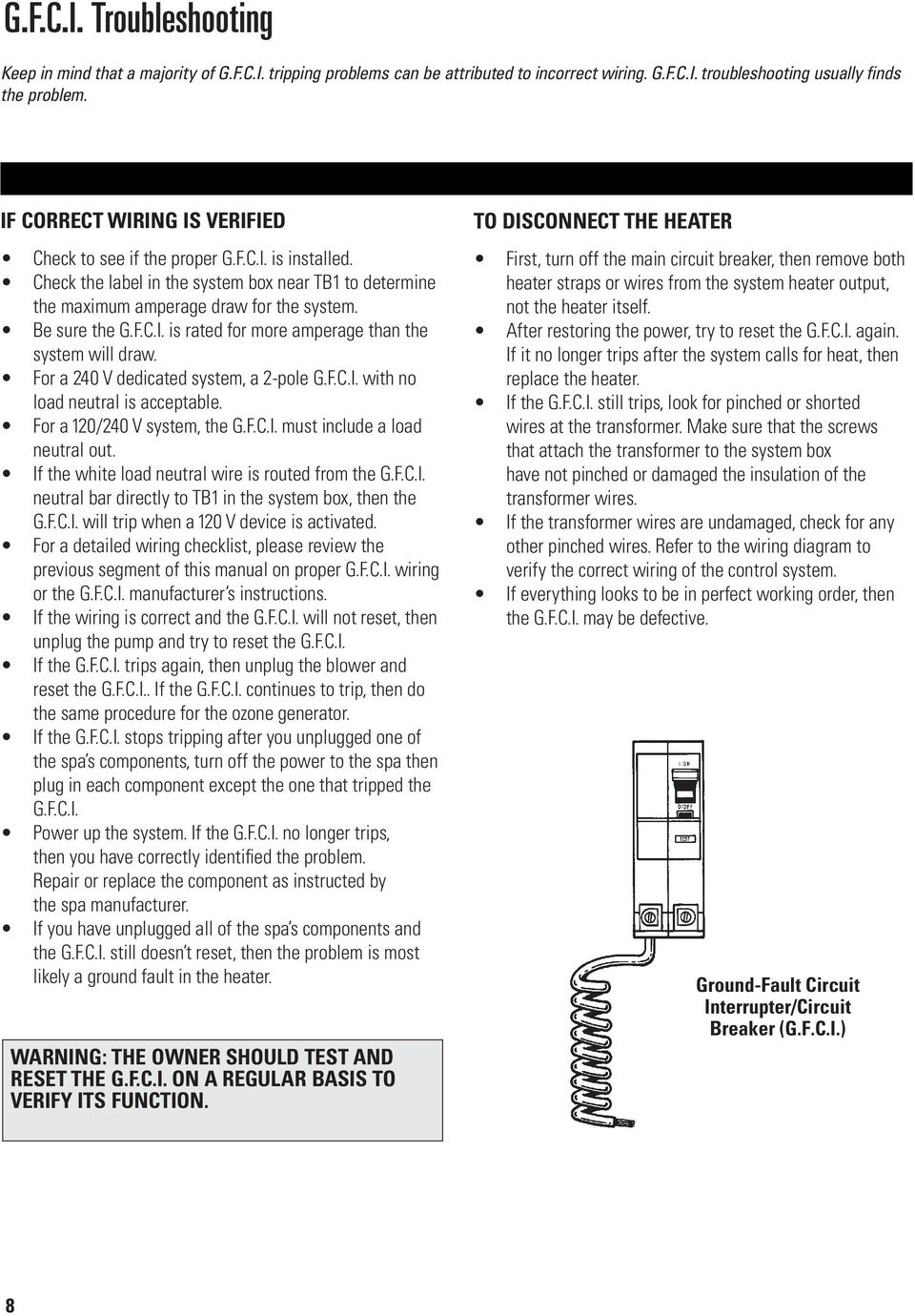 Troubleshooting & Service for EL/VS Systems. 60 Hz - PDF on