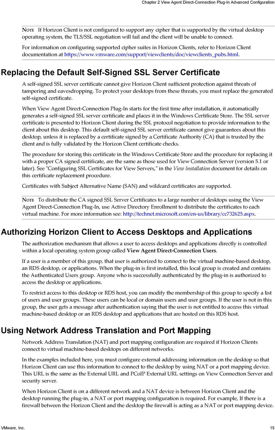 View Agent Direct Connection Plug In Administration Pdf