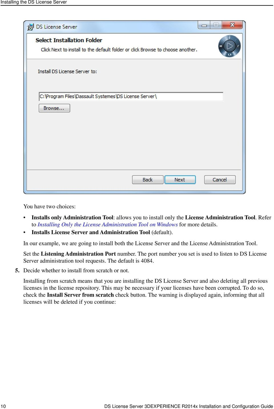 DS License Server  Installation and Configuration Guide