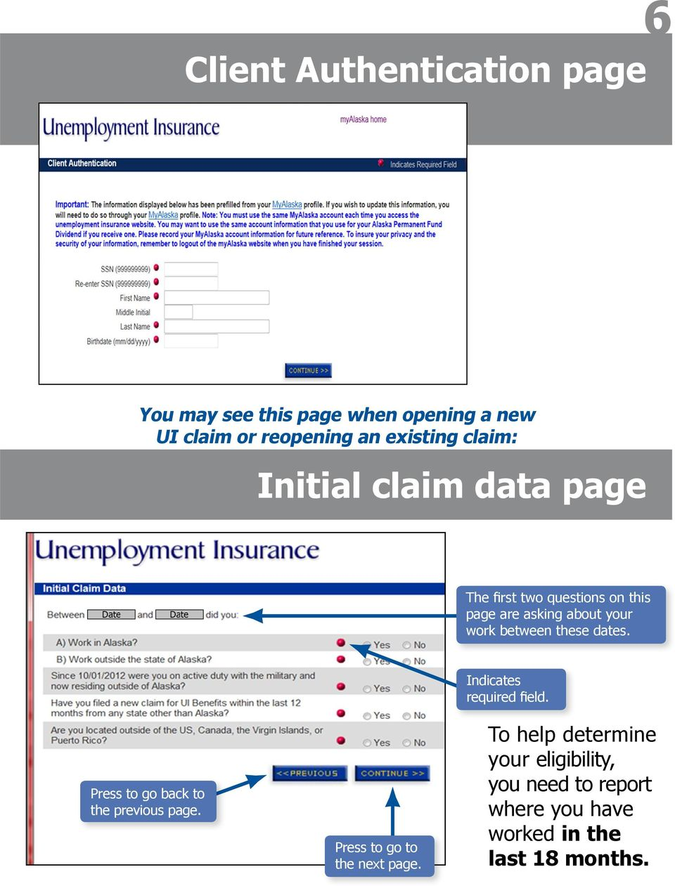 A Help Guide Applying For Unemployment Insurance Ui Online Pdf