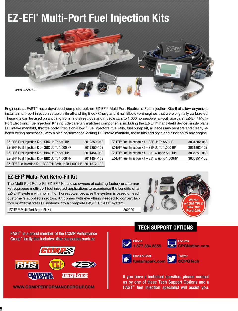 Efi Help Pdf Ez Tcu Controller Wiring Diagram Multi Port Electronic Fuel Injection Kits Include Carefully Matched Components Including The Hand