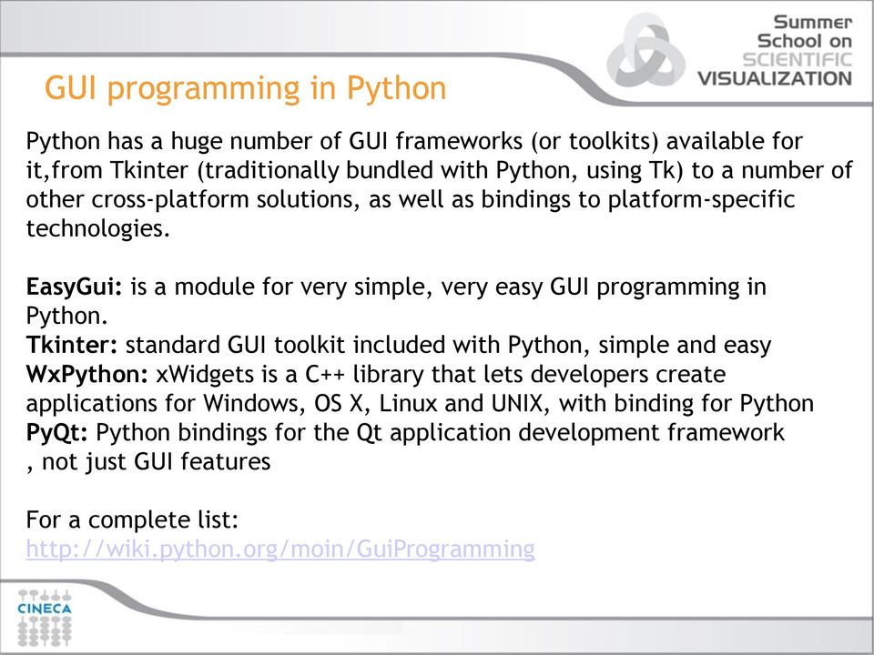 Introduction to GUI programming in Python  Alice Invernizzi - PDF