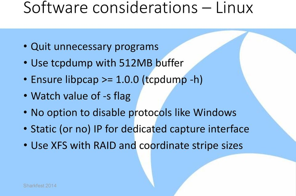 I3: Maximizing Packet Capture Performance  Andrew Brown - PDF