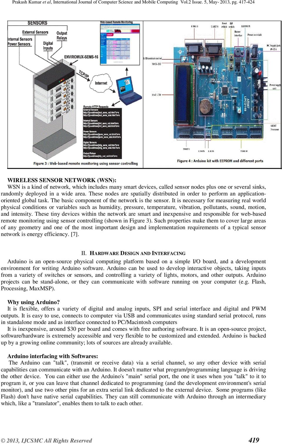 Arduino Based Wireless Intrusion Detection Using Ir Sensor And Gsm Pdf Control Leds On Off With Remote P Marian Infrared It Is Necessary For Measuring Real World Physical Conditions Or Variables Such As Humidity Pressure