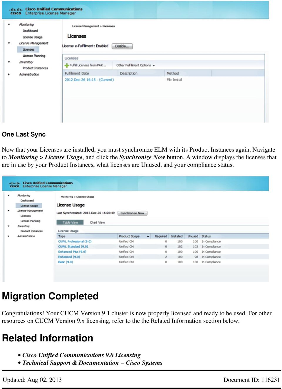 CUCM License Migration from Version 8 x to Version 9 x - PDF