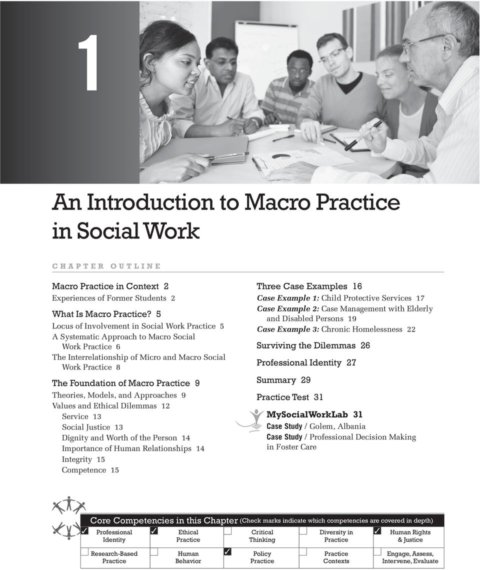 an introduction to macro practice in social work pdf