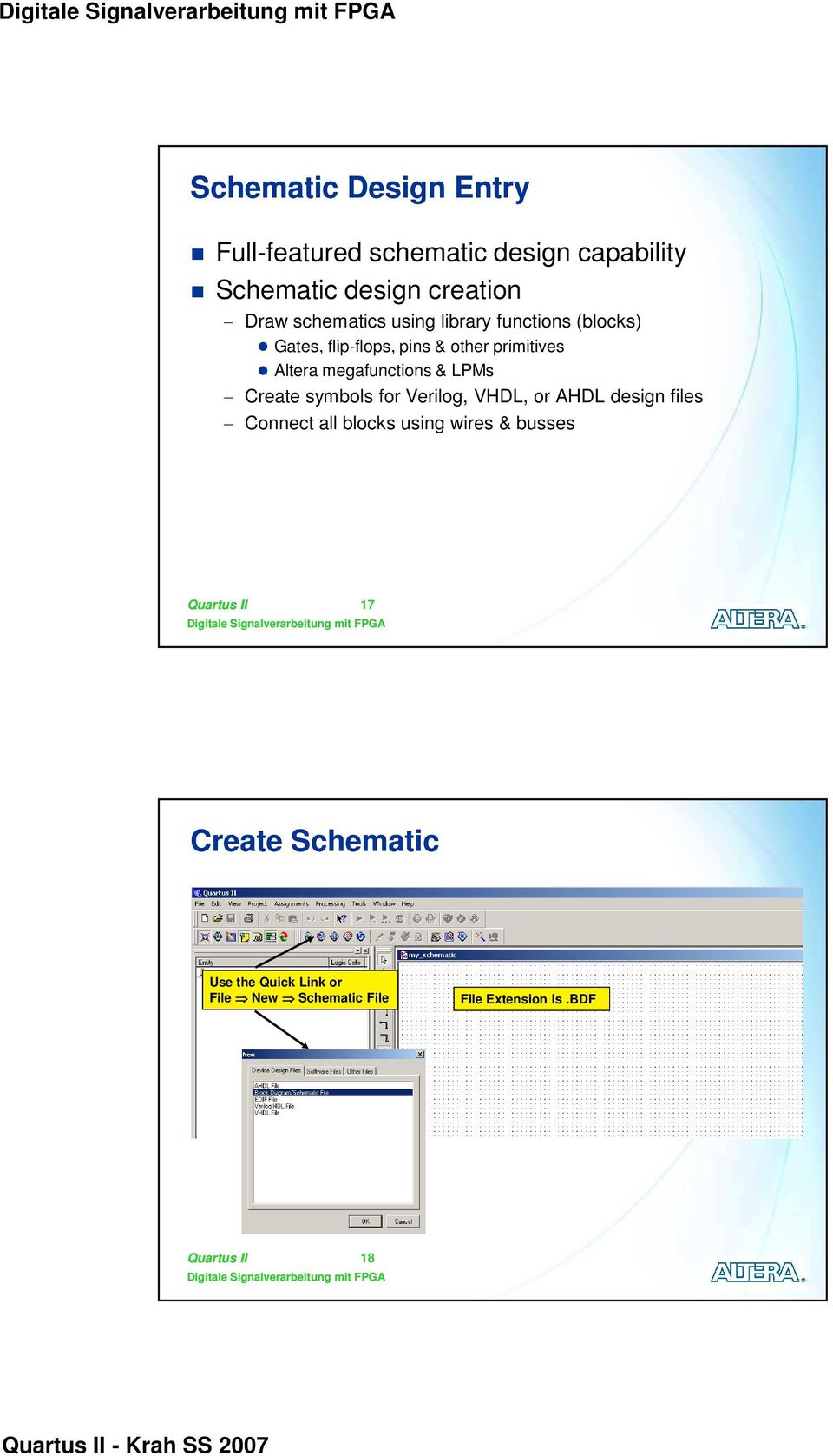 Quartus Ii Software Design Series Foundation Digitale 2 Block Diagram Tutorial Megafunctions Lpms Create Symbols For Verilog Vhdl Or Ahdl Files Connect All