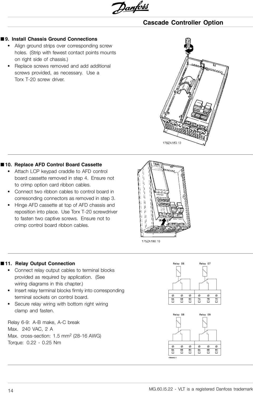 Danfoss Drive Wiring Diagram - Wiring Diagrams on