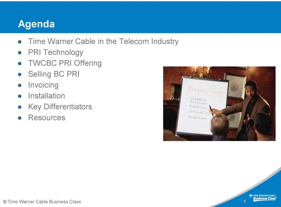 Time Warner Cable Business Class Primary Rate Interface Partner