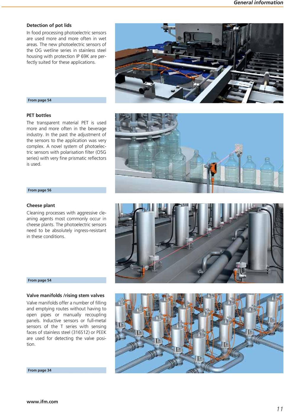 Food automation Catalogue 2010 fluid sensors and diagnostic systems ...