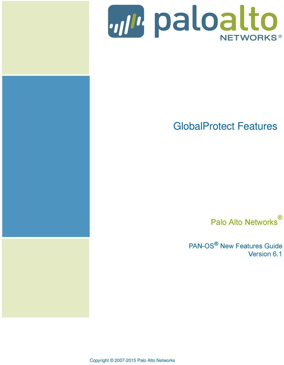 GlobalProtect Features - PDF