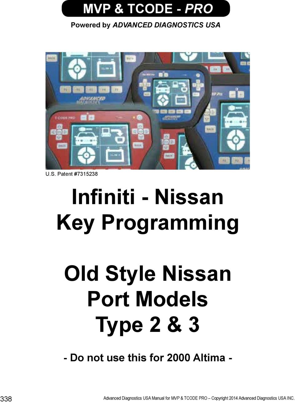 INFINITI - NISSAN This section contains: - PDF
