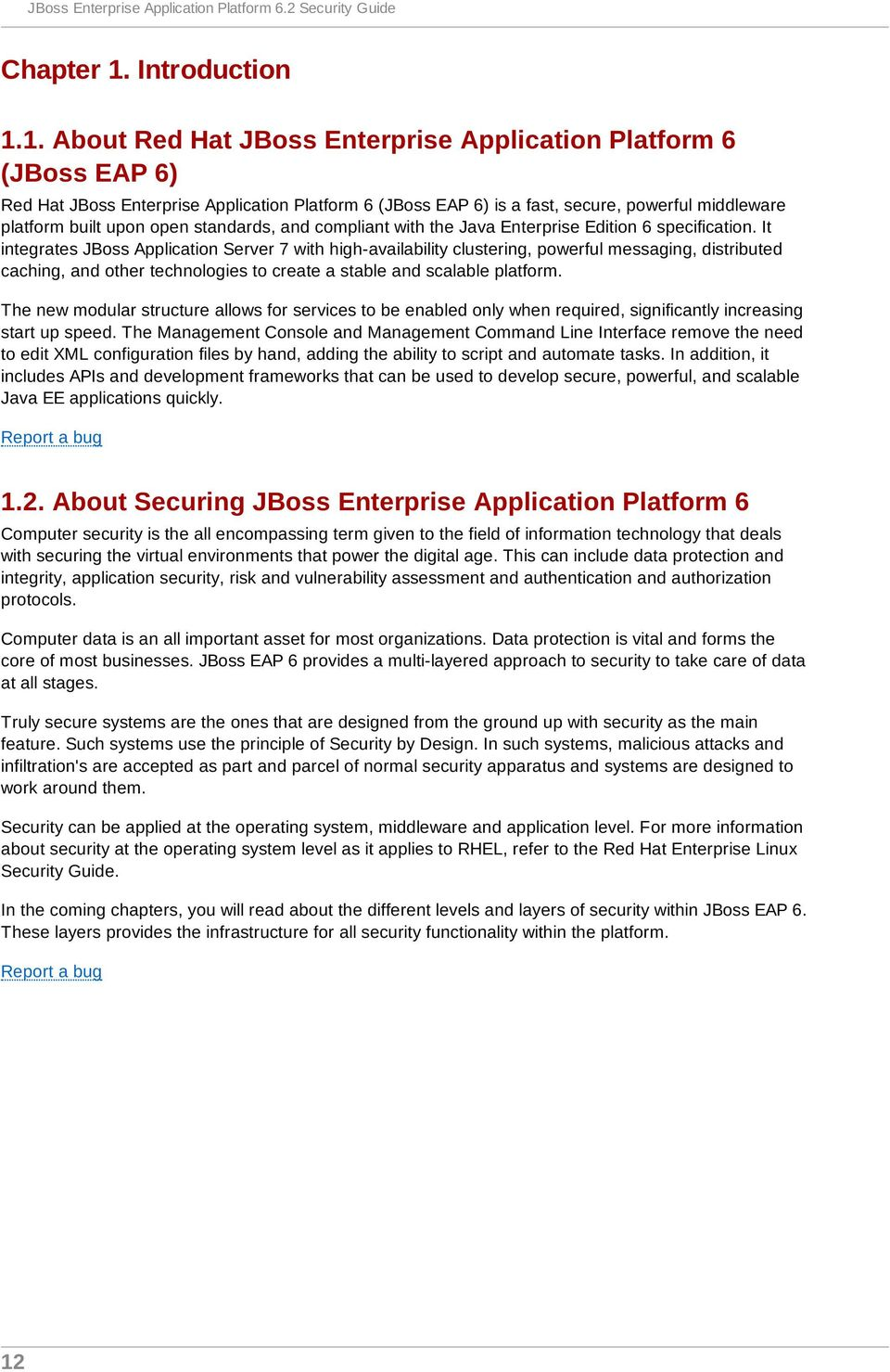JBoss Enterprise Application Platform 6 2 Security Guide - PDF