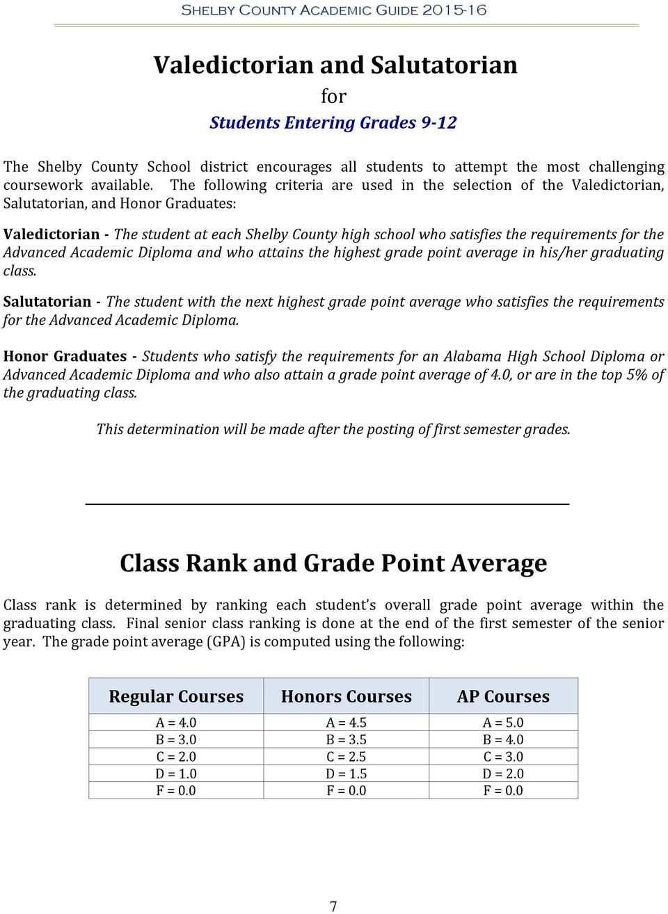 high school academic guide shelby county schools updated pdf rh docplayer net