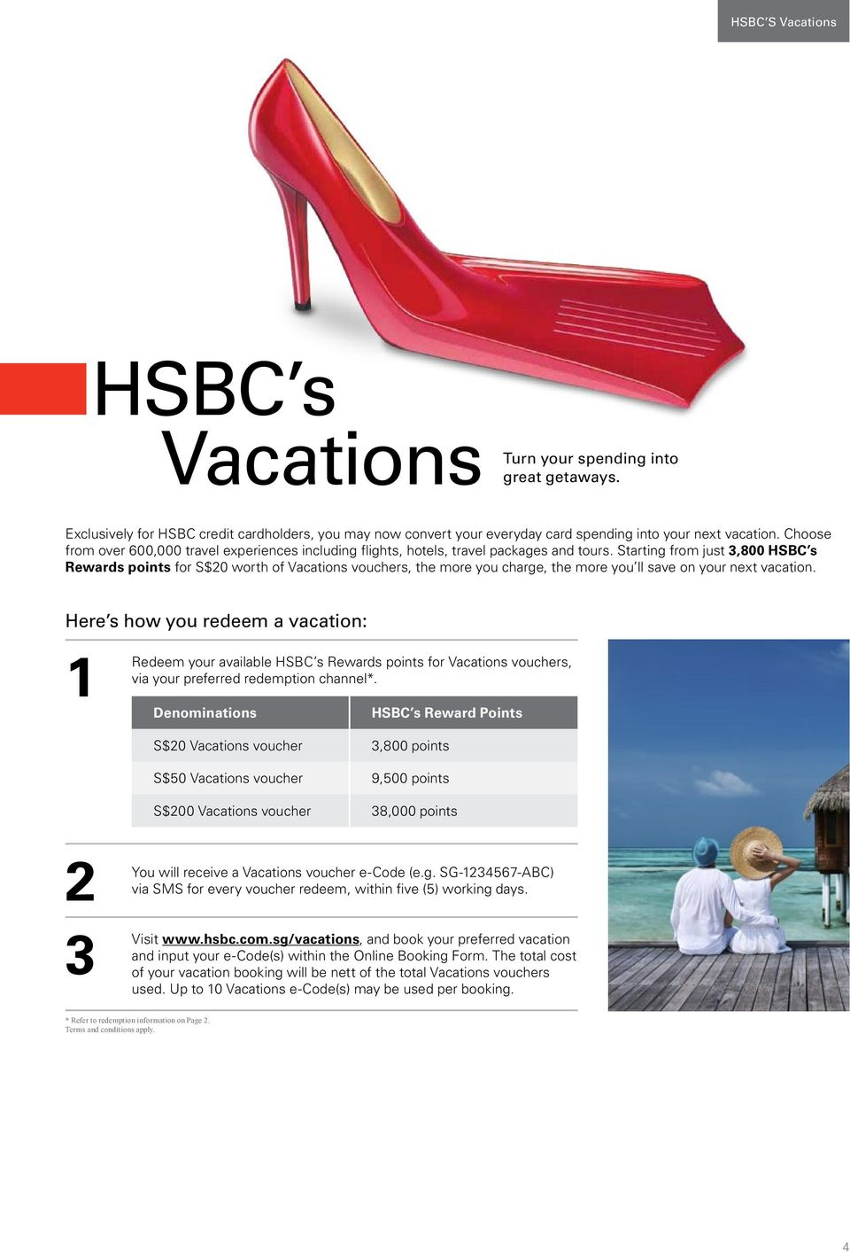 Treat Yourself To Something Special From Hsbc S Rewards Programme Pdf Voucher Ikea Rp 300000 Starting Just 3800 Points For S20 Worth Of Vacations Vouchers