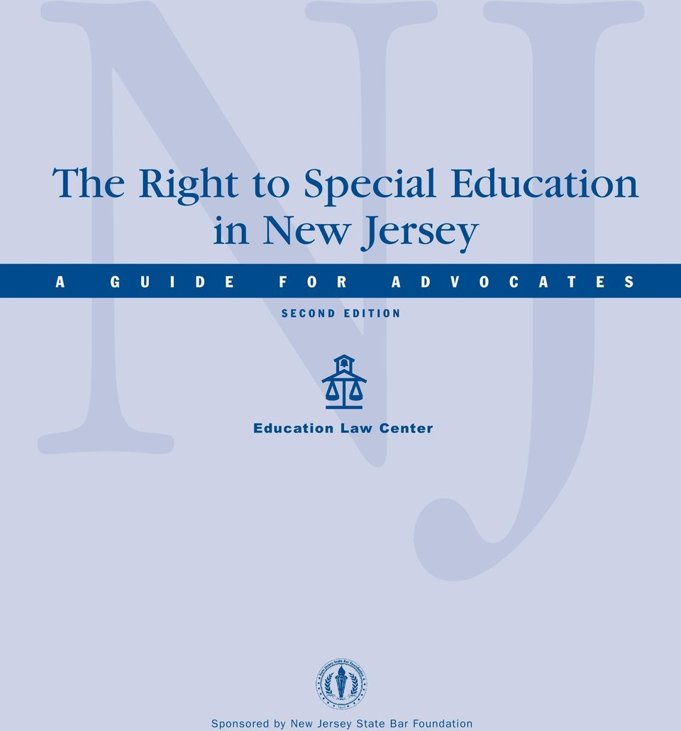 S SECOND EDITION Education Law Center