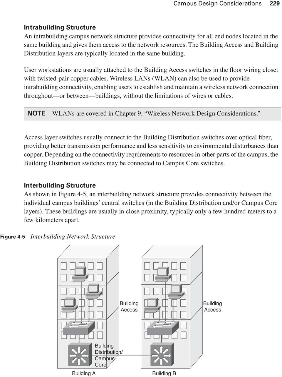 This Chapter Introduces General Campus Switching And Data Center Network Wiring Closet Diagram User Workstations Are Usually Attached To The Building Access Switches In Floor With