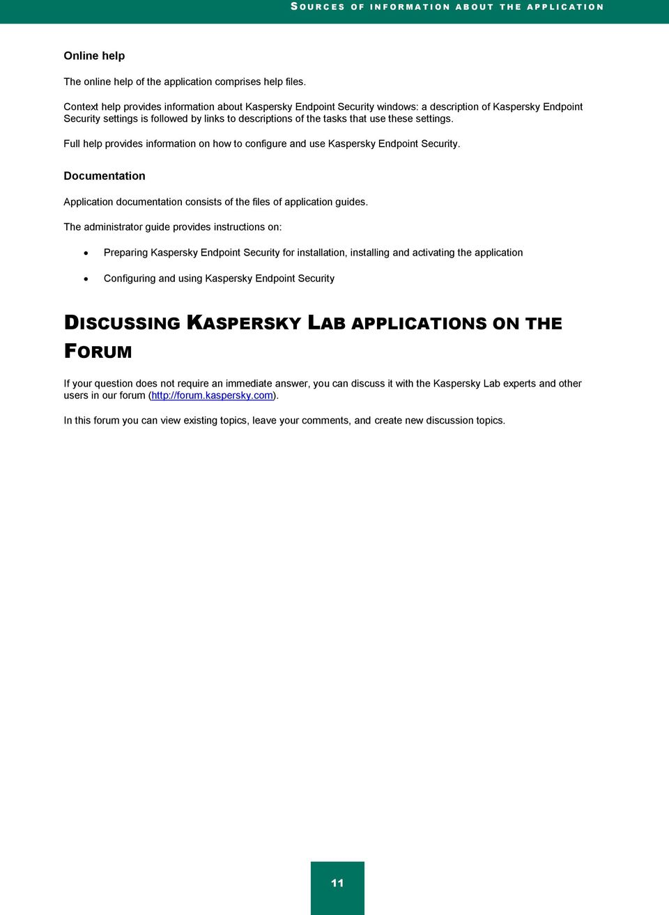 Kaspersky Security for Mobile Administrator's Guide - PDF