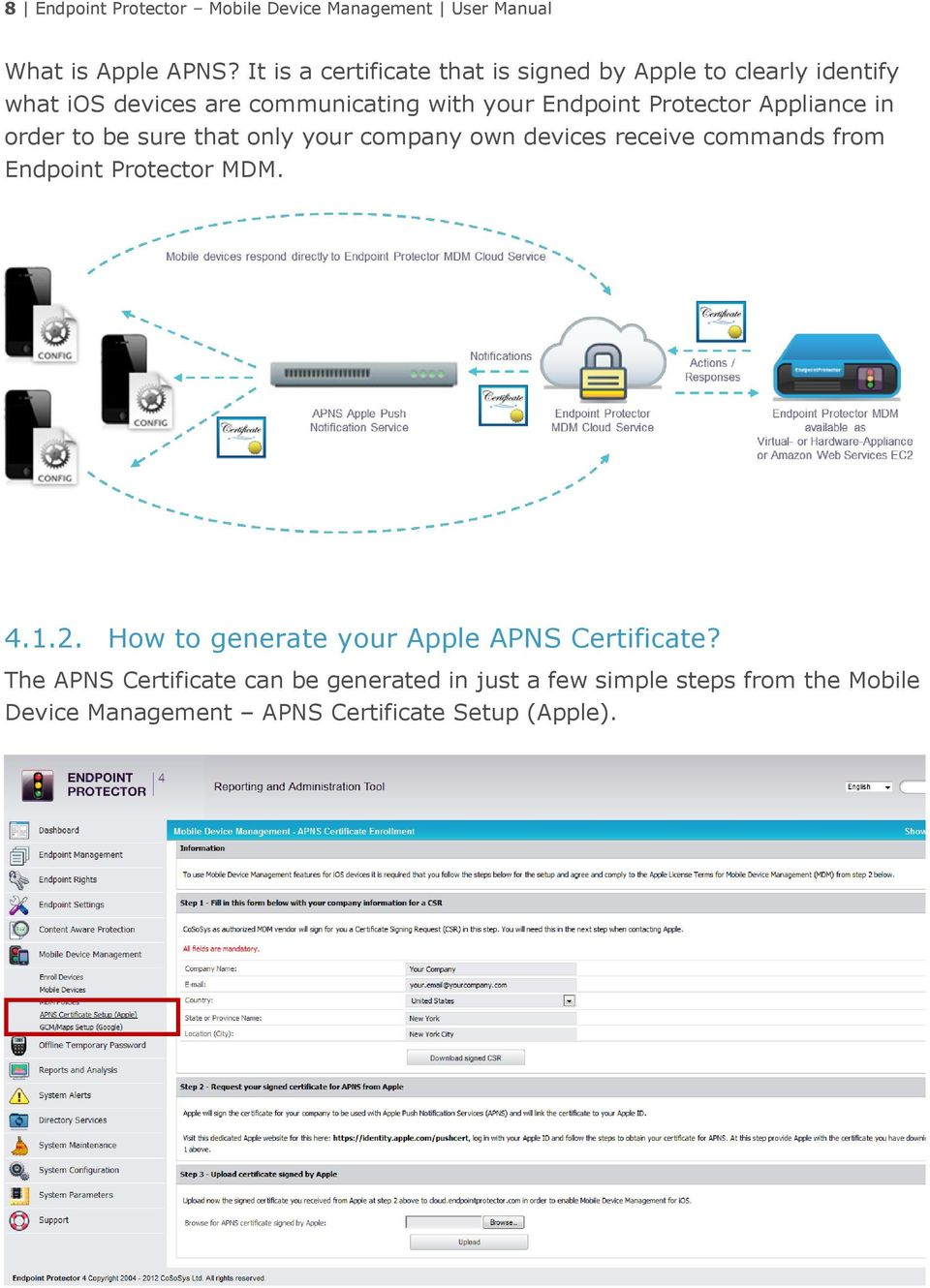 1  Introduction Activation of Mobile Device Management How
