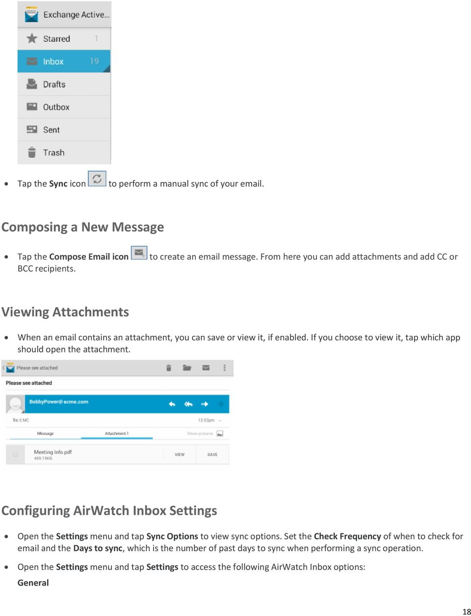 If You Choose To View It Tap Which App Should Open The Attachment Configuring