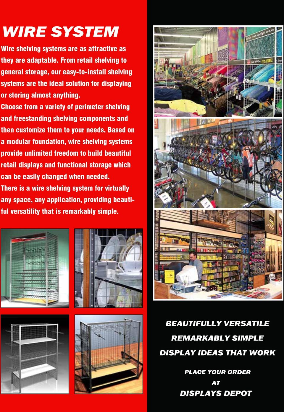 Displays Depot Catalog Your One Stop Fixture Source Since Pdf Mirror Wiring Diagram Get Free Image About Choose From A Variety Of Perimeter Shelving And Freestanding Components Then Customize Them To