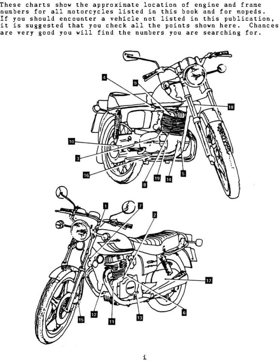 Motorcycle Identification Pdf 1970 Honda Vin Decoder If You Should Encounter A Vehicle Not Listed In This Publication It Is