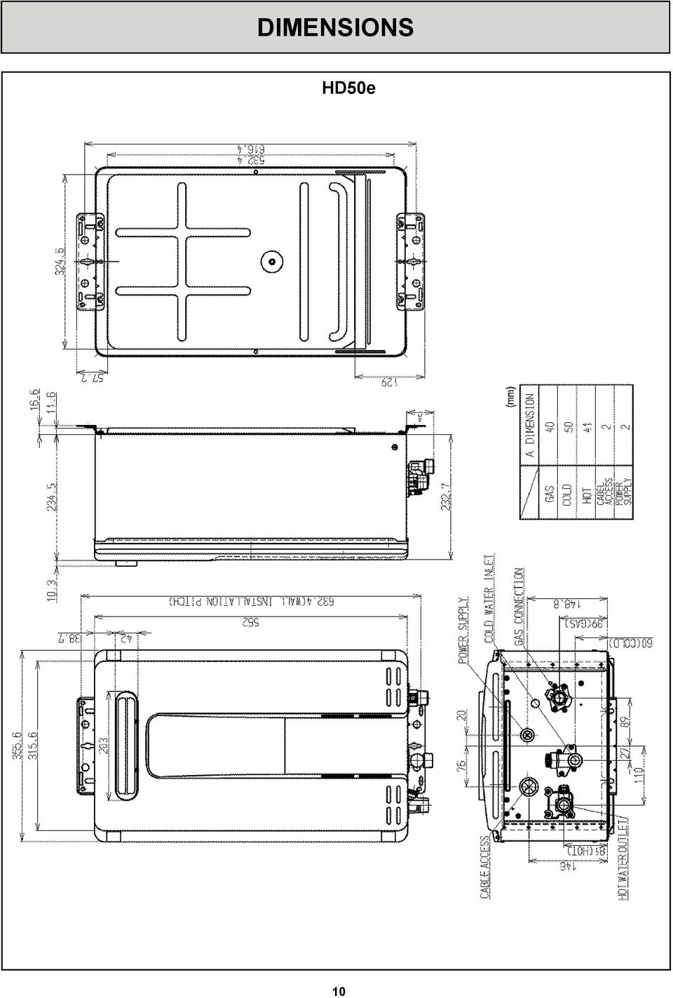 Service Manual Reu Vr2632ffud 26i Vr2632 Ffu Hd E Hd50i Rinnai R85 Gas Valve Wiring Diagram 11 Temperature Controls The Purpose Of A Controller Is To Enable User Have Localised Control Over Hot Water Supply