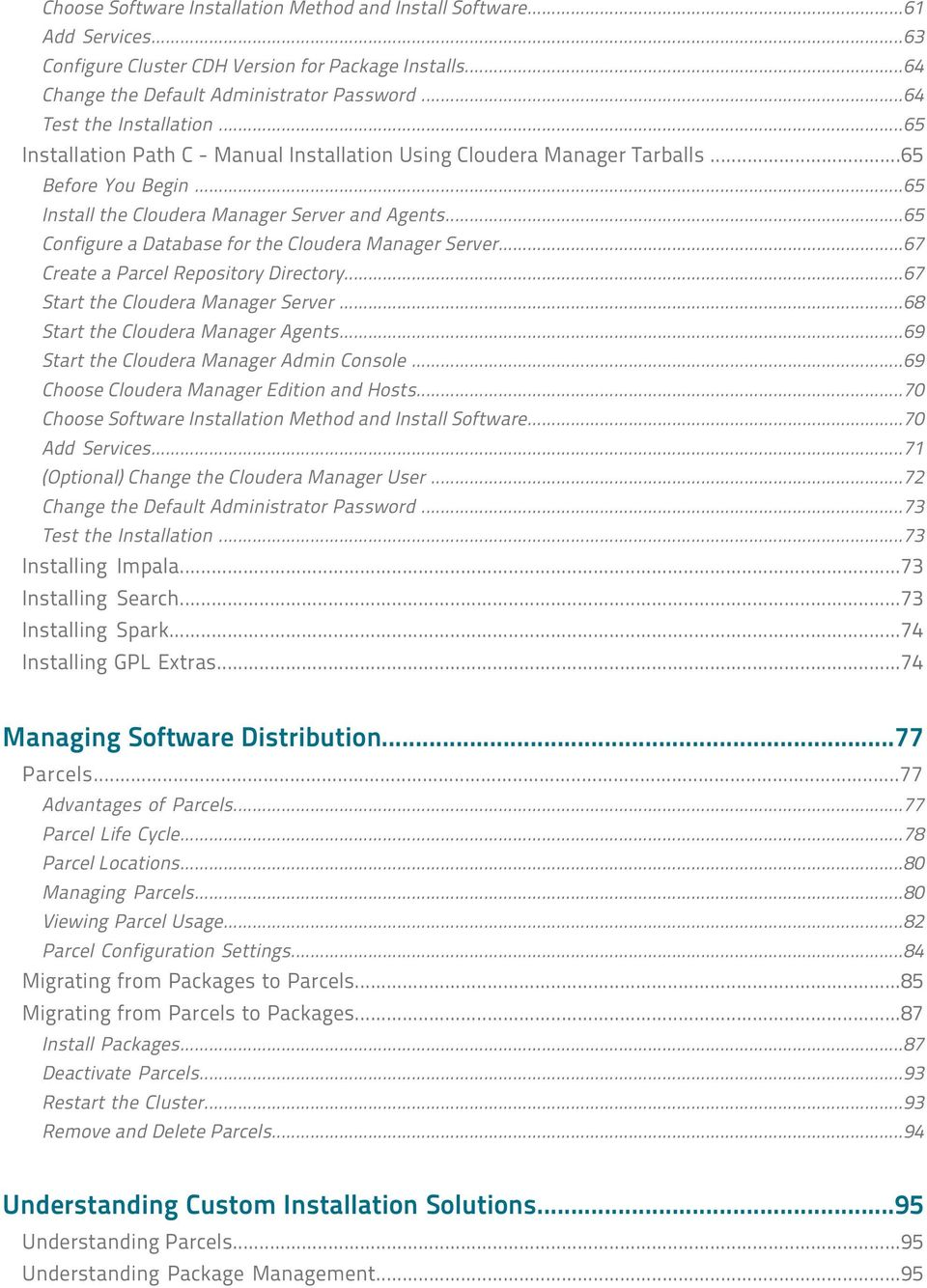 Cloudera Manager Installation Guide - PDF