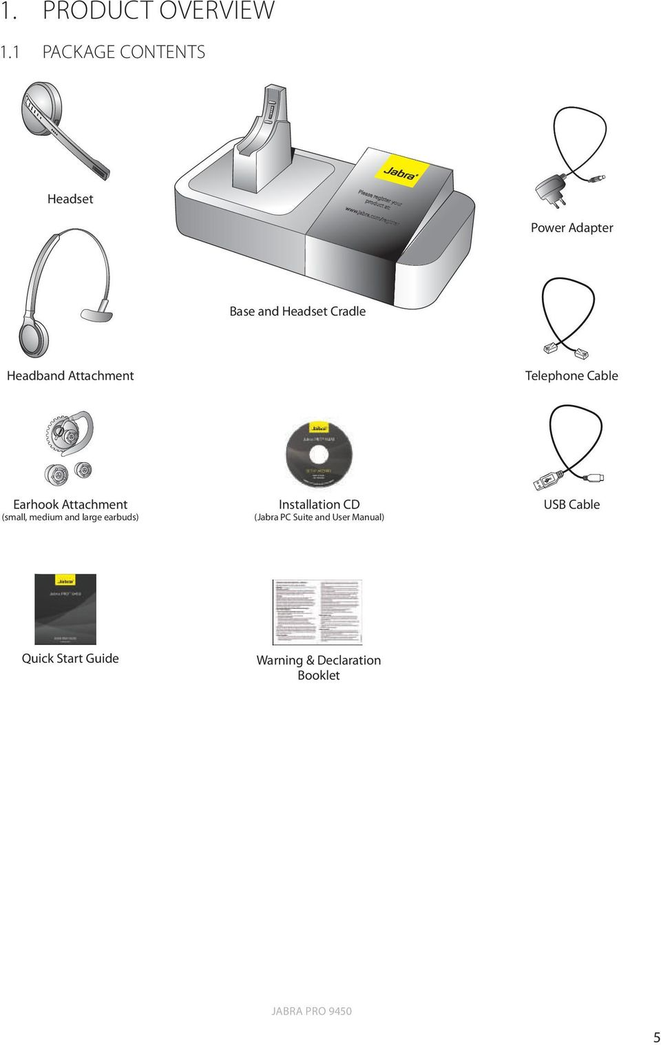 How To Use The Jabra Pro 9450 With A Desk Phone And A Bluetooth Headset Pdf Free Download