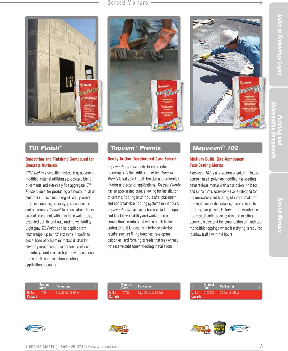 Concrete Restoration Systems - PDF