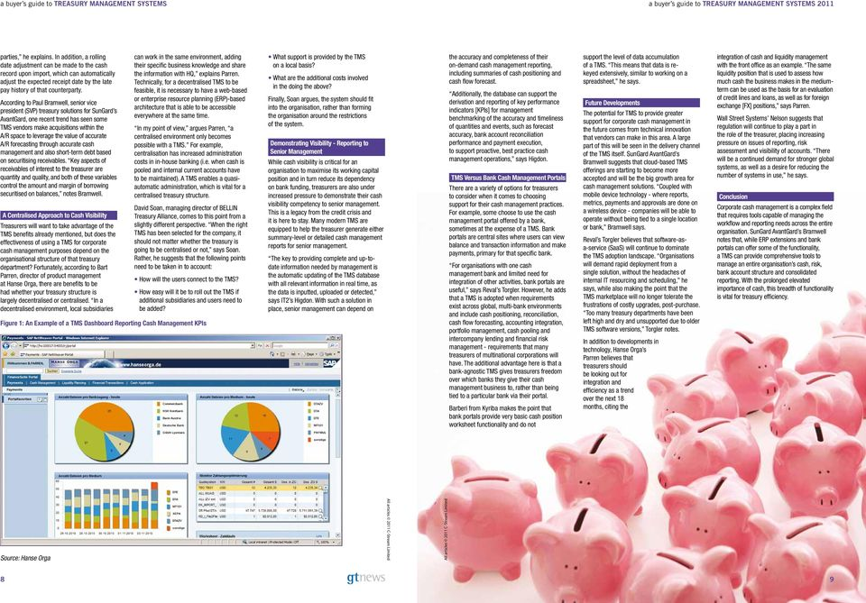 buyer s guide Treasury Management Systems - PDF