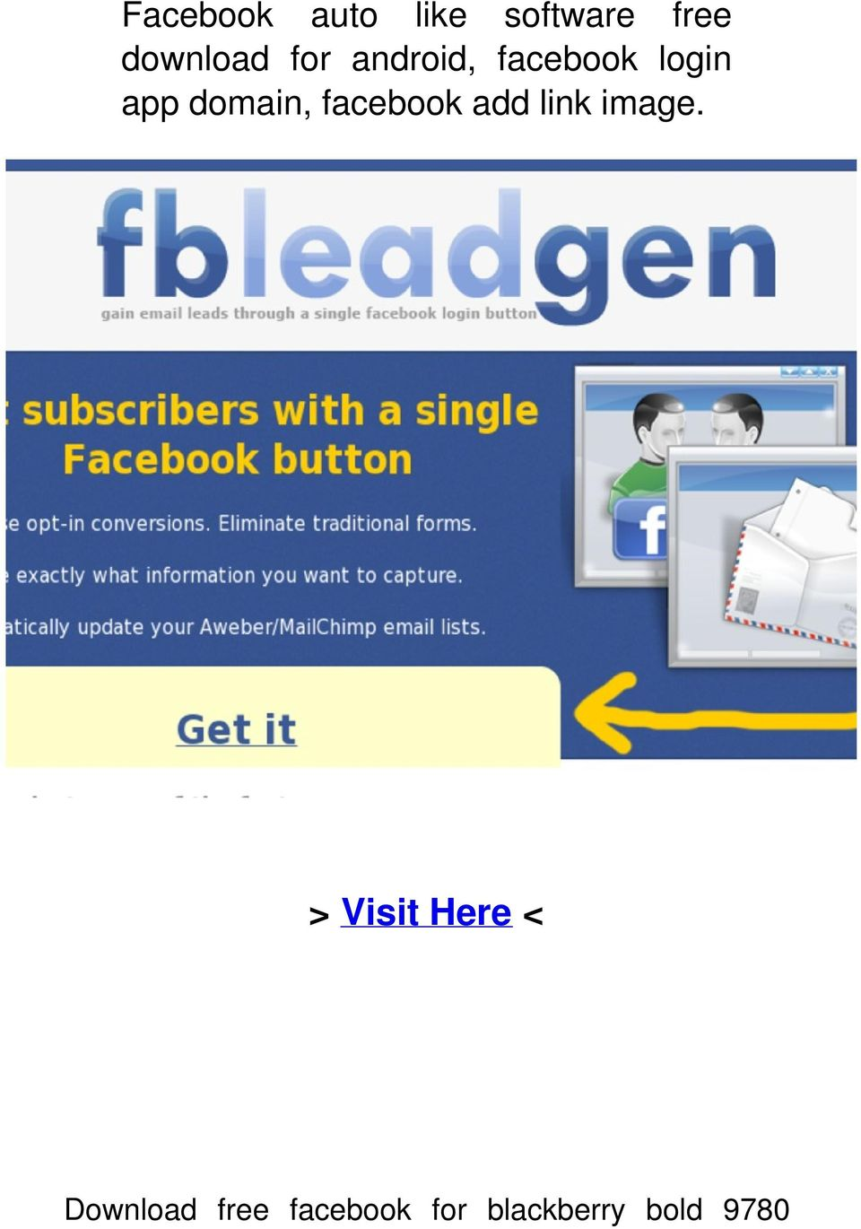 Facebook auto like software free download for android