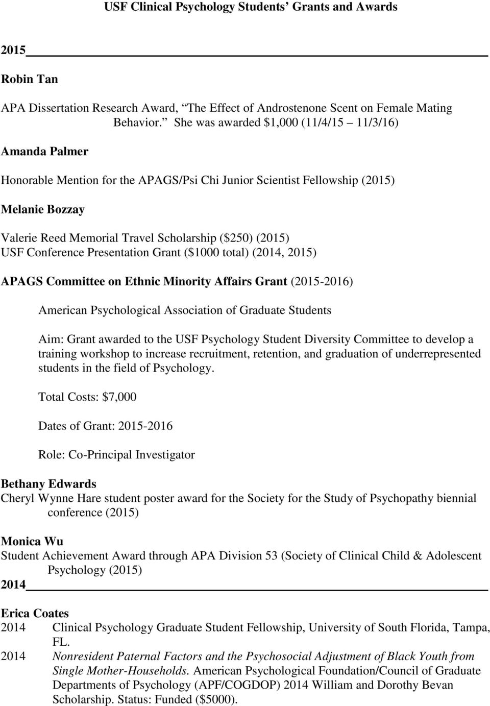 usf dissertation completion fellowship